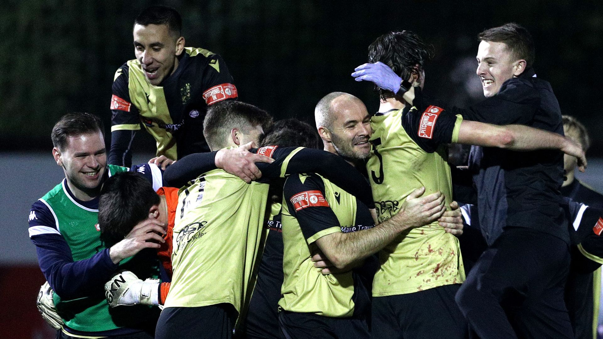 Non-League Marine get PL leaders Spurs in FA Cup
