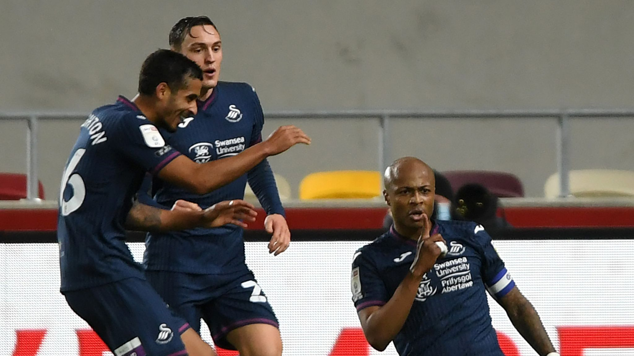 Brentford 1-1 Swansea: Andre Ayew strikes to deny Bees ...