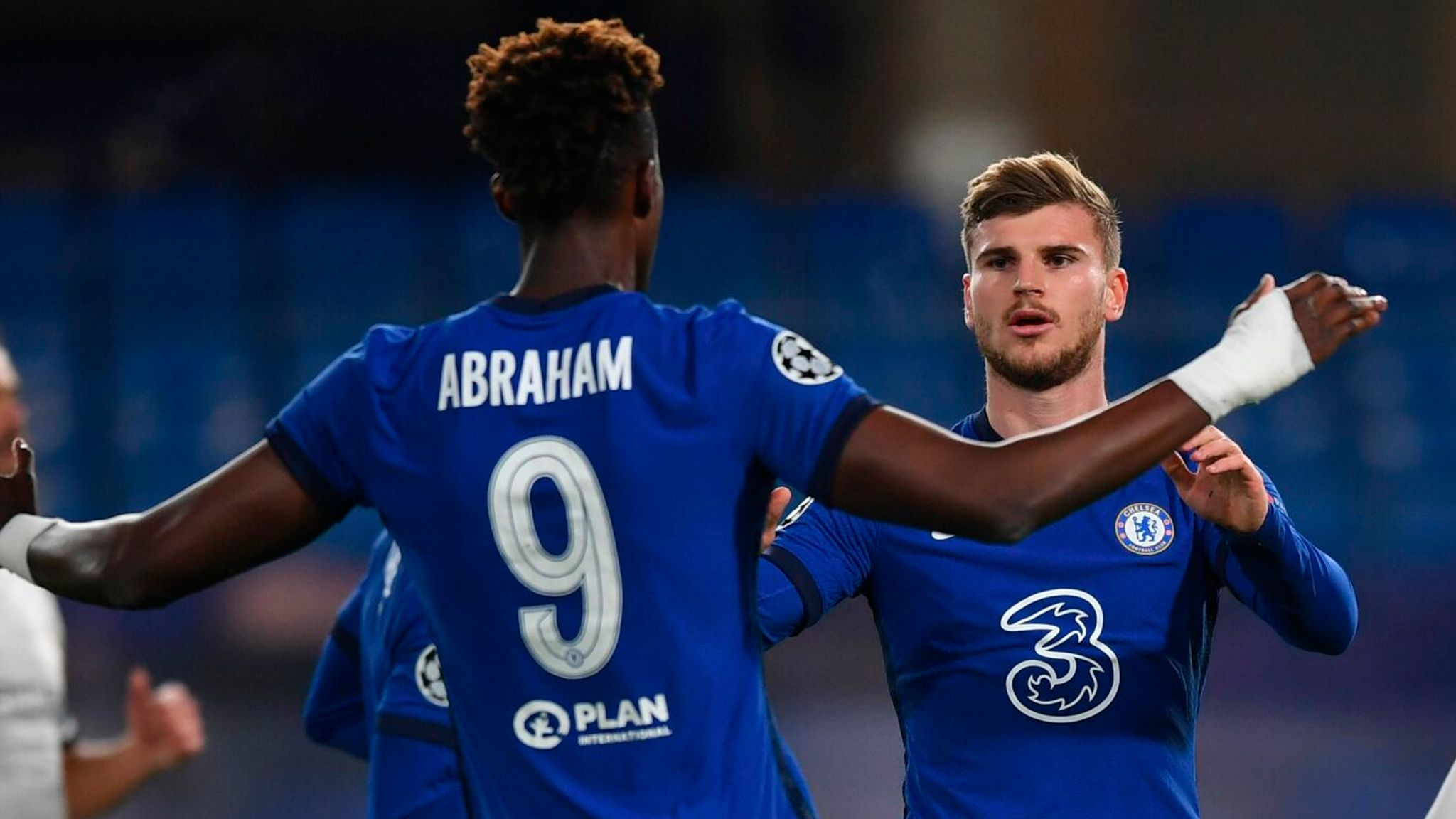 Chelsea 3-0 Rennes: Timo Werner and Tammy Abraham on target in convincing  Champions League win | Football News | Sky Sports