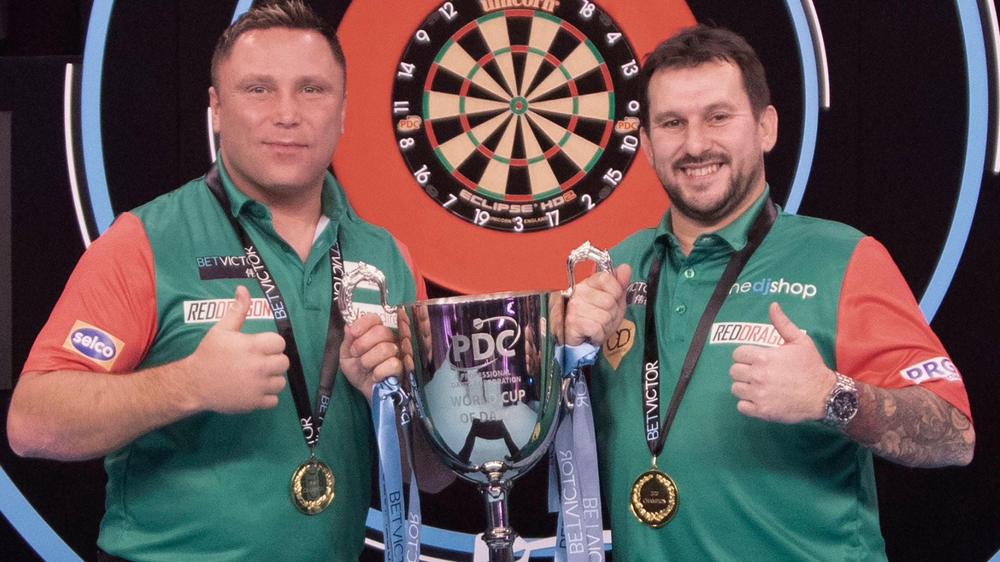 World Cup of Darts 2020: Wales whitewash England to win maiden ...