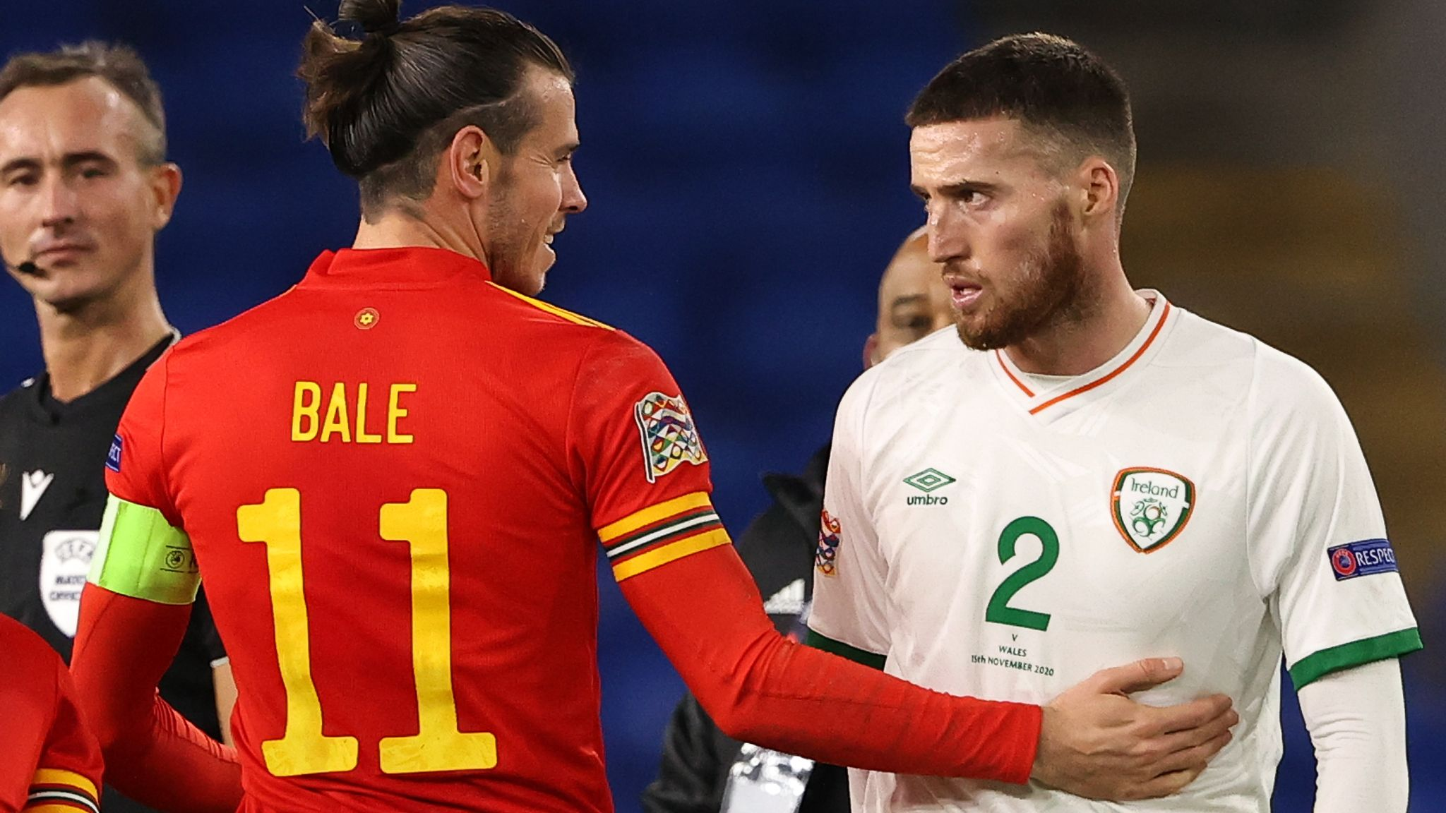 Gareth Bale: Tottenham forward 'concerned' after embrace with club  team-mate Matt Doherty | Football News | Sky Sports