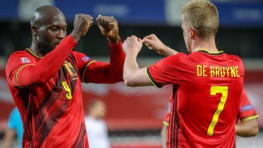 Romelu Lukaku and Kevin De Bruyne starred as Belgium book their Nations League finals spot