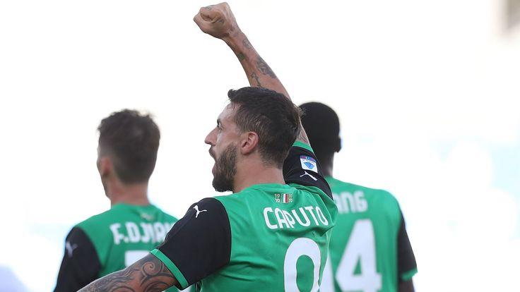 Sassuolo striker Ciccio Caputo