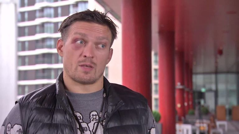 Anthony Joshua's mandatory challenger Oleksandr Usyk got back into trouble to become the champion's next opponent    Boxing News