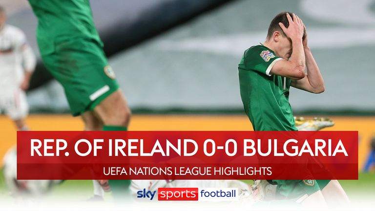 Ireland 0-0 Bulgaria