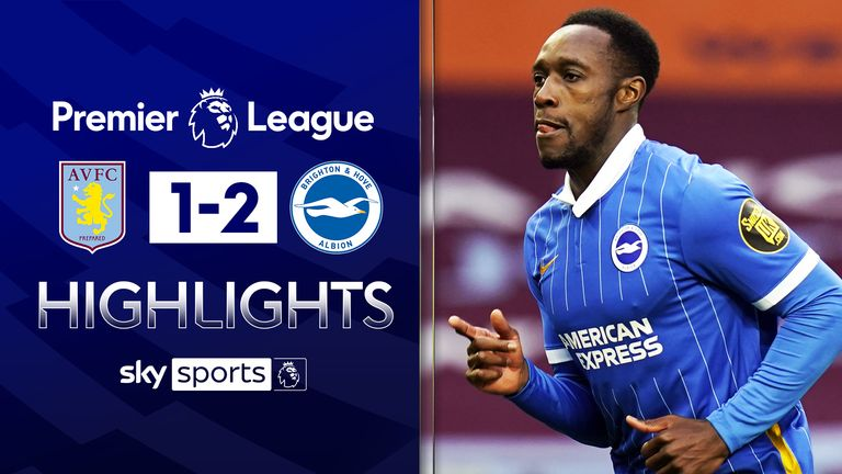FREE TO WATCH: Highlights from Brighton's win against Aston Villa in the Premier League