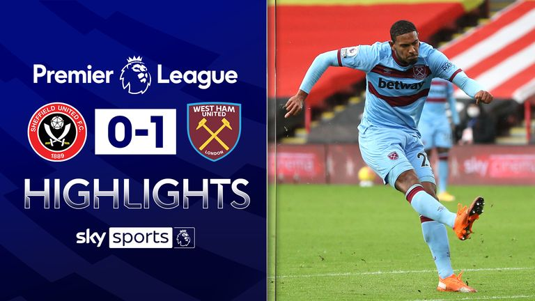 FREE TO WATCH: Highlights from West Ham's win at Sheffield United.