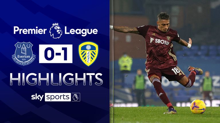 FREE TO WATCH: Highlights from Leeds' win at Everton in the Premier League