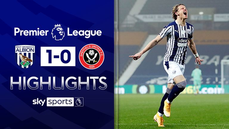 FREE TO WATCH: Highlights from West Brom's win over Sheffield United in the Premier League