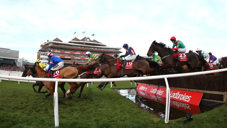 Ladbrokes Trophy action
