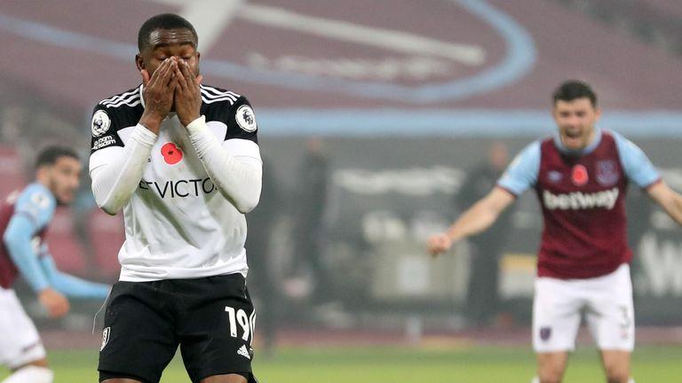 Ademola Lookman misses a Panenka penalty in the last minute against West Ham