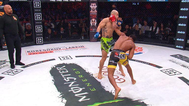AJ McKee's 8 second KO