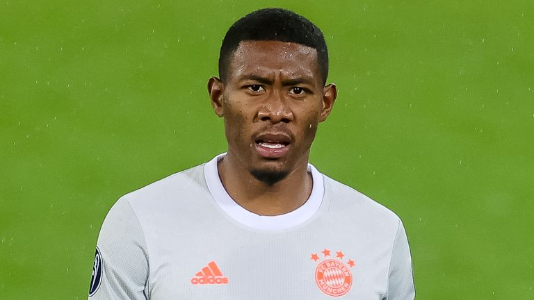 Bayern defender David Alaba is out of contract at the end of the season and has attracted interest from a number of Europe's top clubs including Liverpool and Manchester City