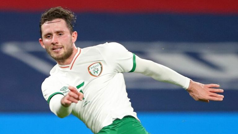 Alan Browne has been isolated away from the rest of the Rep Ireland squad