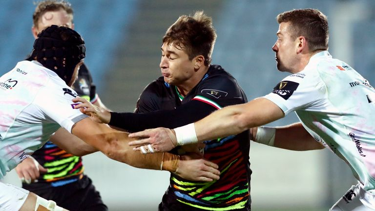 Antonio Rizzi bagged 18 points for Zebre