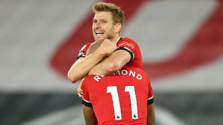 Stuart Armstrong sealed the win to put Southampton top of the league