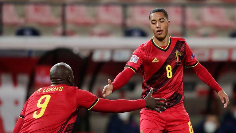 Belgium beat England 2-0 on Sunday