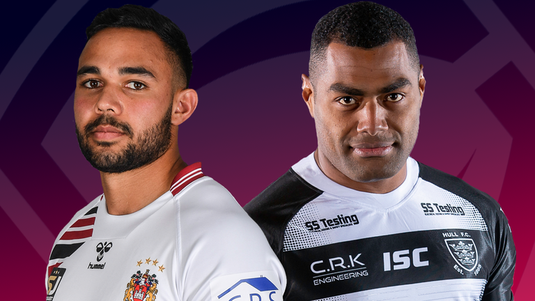 Wigan and Hull FC battle it out for a place in the Super League Grand Final on Thursday evening
