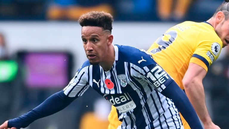 Callum Robinson tested positive while he was away with the Republic of Ireland
