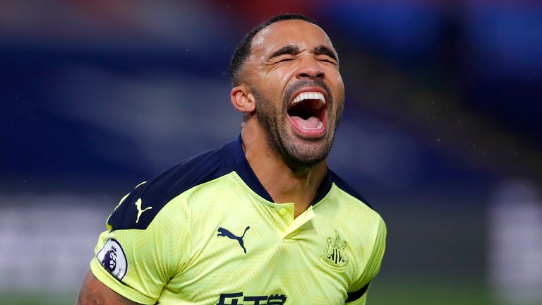 Newcastle United striker Callum Wilson has been directly involved in nine goals in nine Premier League appearances for the club (7 goals, 2 assists).