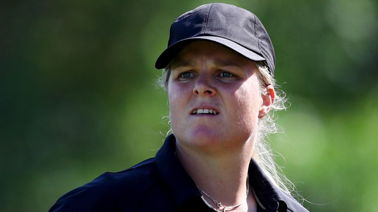 Caroline Hedwall will play alongside Minjee Lee and Meghan MacLaren in the final round