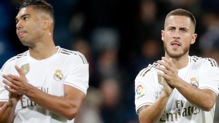 Casemiro of Real Madrid, Hazard of Real Madrid