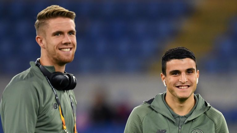 Kris Ajer and Mohamed Elyounoussi are expected to resume training with Celtic this week and not to miss Saturday's game against Hibs