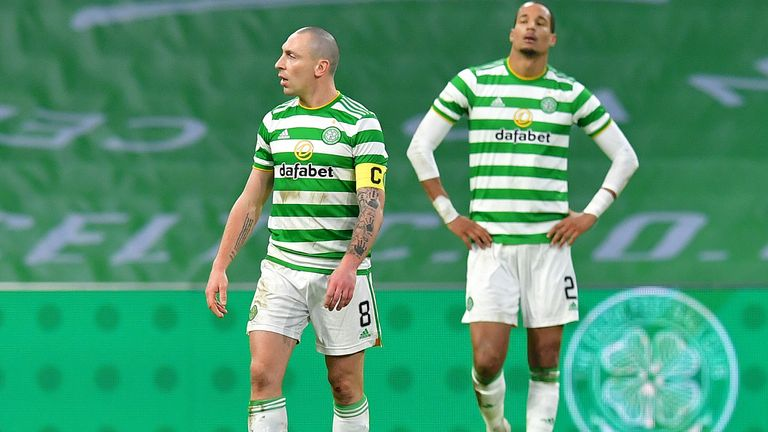 Celtic 0 2 Ross County Pressure Piled On Neil Lennon As Holders Exit The Betfred Cup Football News Sky Sports