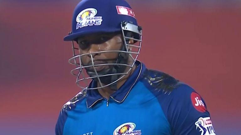 Kieron Pollard's penultimate six of the innings was his 200th maximum in IPL history