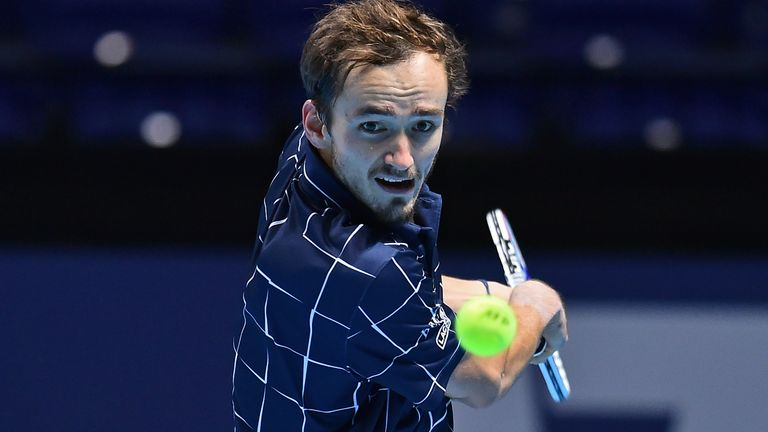 Russian Medvedev turned the tide in superb fashion to win in three sets