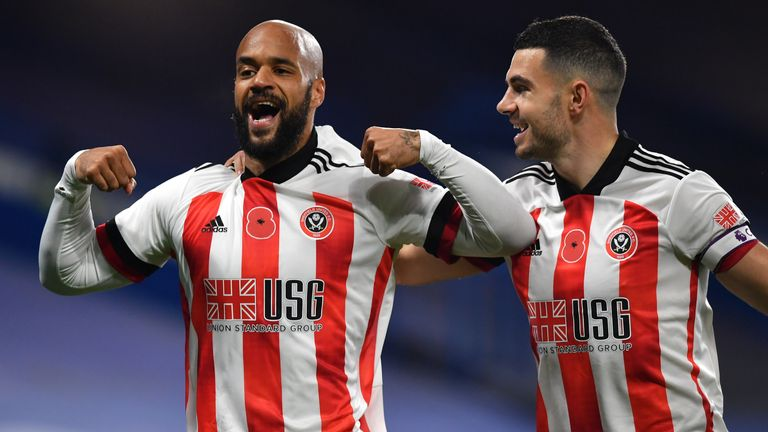 David McGoldrick's clever finish gave Sheffield United the early lead