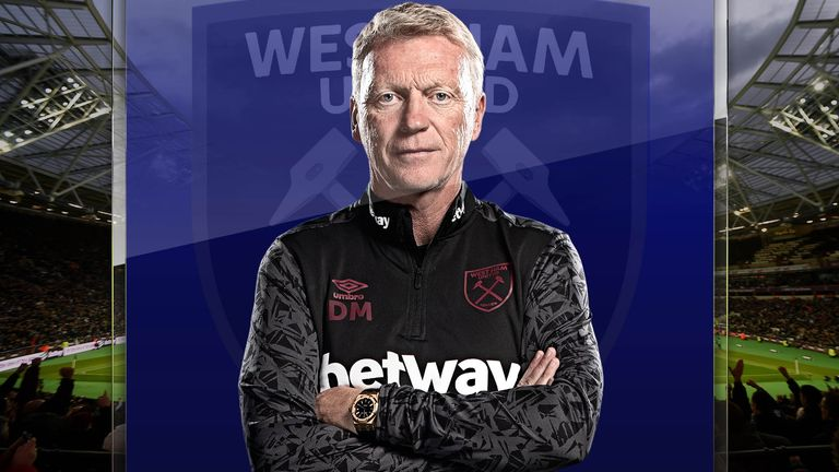 David Moyes manager West Ham says his team have grown in confidence over recent months