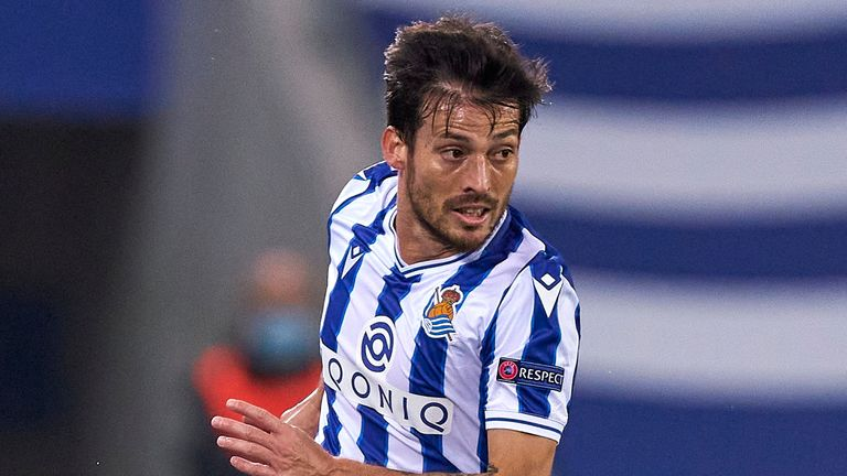 """David Silva has """"raised the level"""" of Real Sociedad as they look to take advantage of their superb start to top the La Liga standings"""