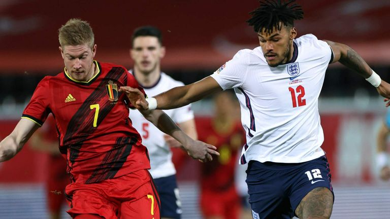 Action from Belgium vs England