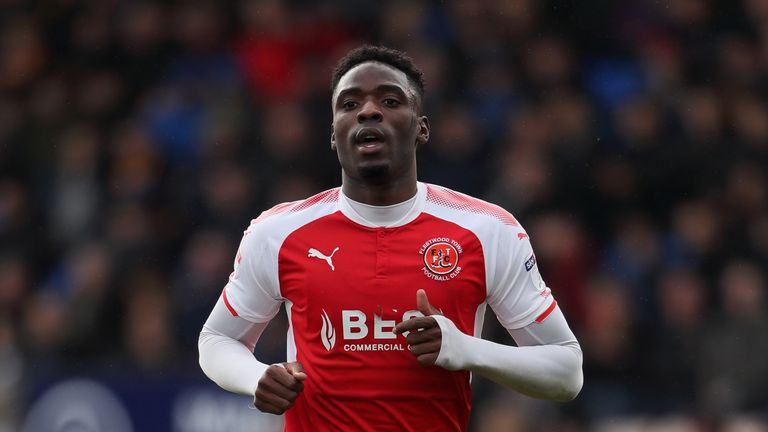 Devante Cole, who began his career at Man City, has played up front for Motherwell, Doncaster Rovers, Wigan and Fleetwood Town