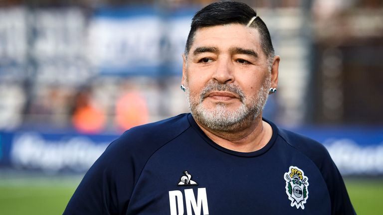 Diego Maradona has been recovering after an operation for bleeding in his skull