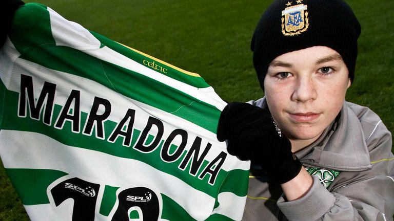 Diego Maradona: Former Celtic youth Adam Brown recalls meeting Argentina legend | Football News