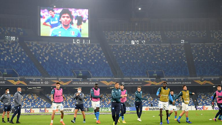 Serie A clubs will continue to pay their respects to Diego Maradona this weekend.