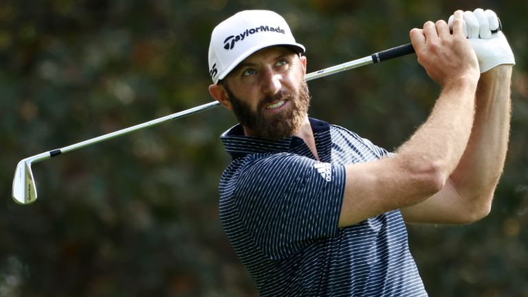 Johnson fired a closing 68 to finish on 20-under par