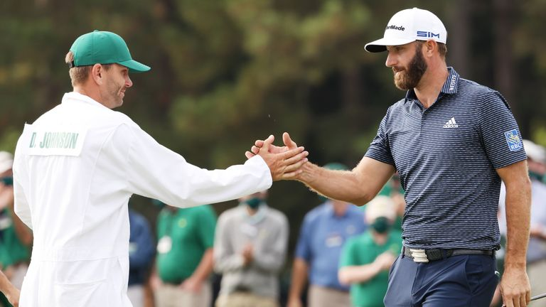Dustin Johnson ended the week on 20 under, the lowest score in relation to par in Masters history
