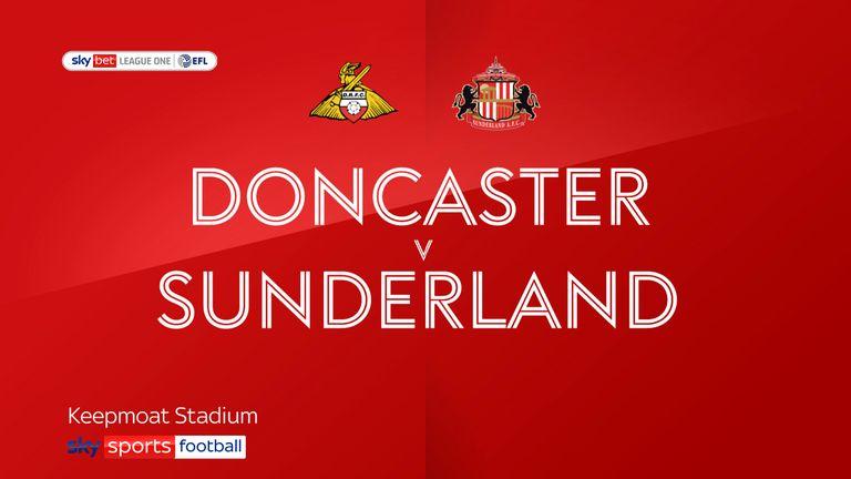 Doncaster v Sunderland badge