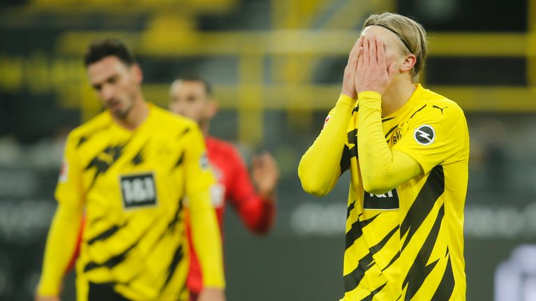 Borussia Dortmund crashed to a shock home defeat to Cologne