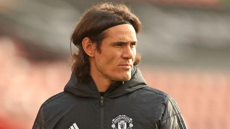 Edinson Cavani, Manchester United striker