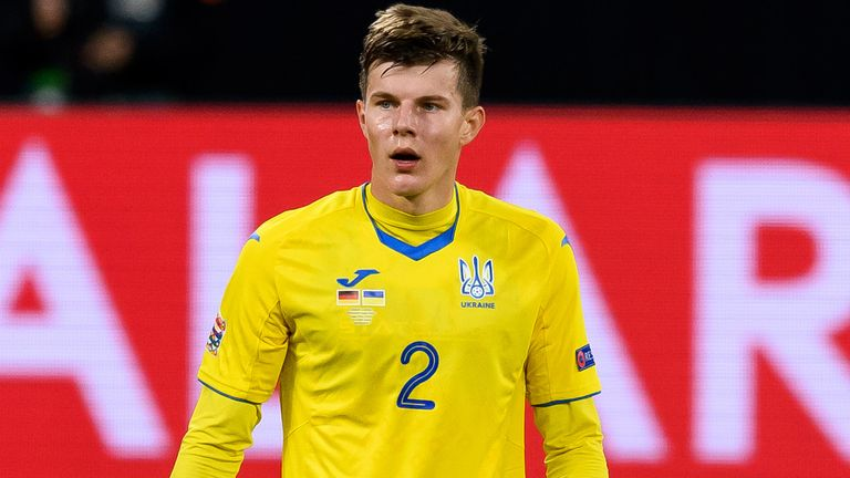 Eduard Sobol was one of three Ukraine players to test positive for Covid-19 on Monday