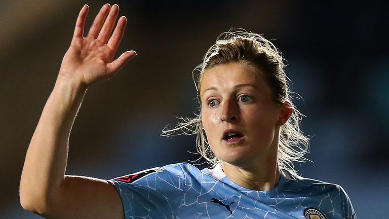Ellen White become just the second player to reach 50 WSL goals on Saturday