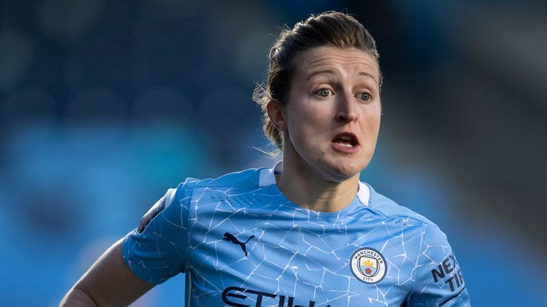 Manchester City and England forward Ellen White has urged the FA to make a diverse choice in their appointment of a new FA chair