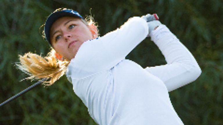 Emily Kristine Pedersen already has the season-long Order of Merit title wrapped up with a week to spare