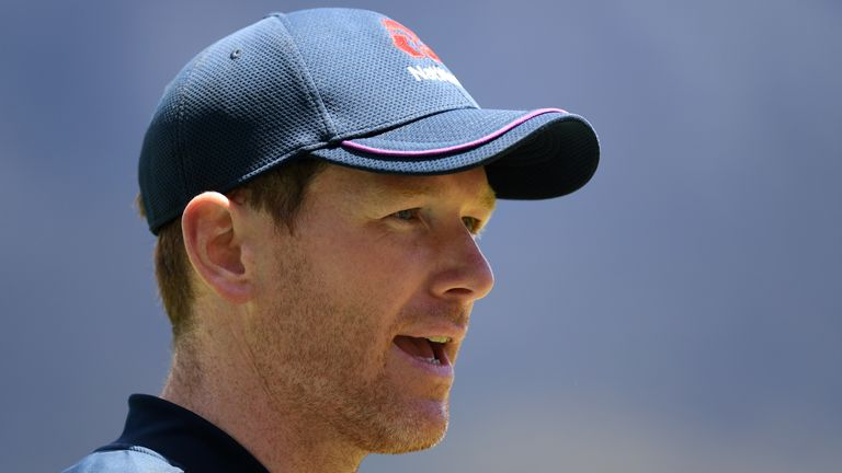 England white-ball captain Eoin Morgan speaking ahead of the first T20 against South Africa, in Cape Town