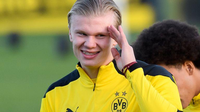 Erling Haaland, Borussia Dortmund forward