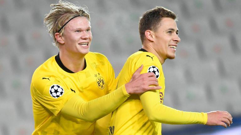 Erling Haaland starred for Dortmund
